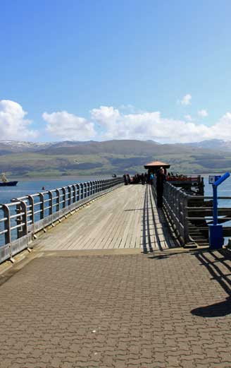The pier at Beaumaris Anglesey
